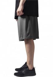 Pánske kraťasy URBAN CLASSICS Bball Mesh Shorts grey