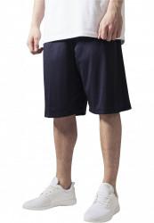 Pánske kraťasy URBAN CLASSICS Bball Mesh Shorts navy