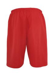 Pánske kraťasy URBAN CLASSICS Bball Mesh Shorts red #4