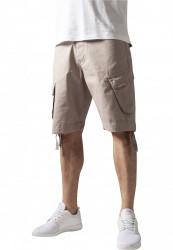 Pánske kraťasy URBAN CLASSICS Cargo Twill Shorts beige
