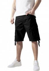 Pánske kraťasy URBAN CLASSICS Cargo Twill Shorts black