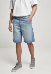 Pánske kraťasy URBAN CLASSICS Carpenter Jeans lighter washed