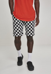 Pánske kraťasy URBAN CLASSICS Check Twill Shorts chess