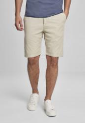 Pánske kraťasy URBAN CLASSICS Straight Leg Chino Shorts with Belt concrete