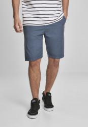Pánske kraťasy URBAN CLASSICS Straight Leg Chino Shorts with Belt vintageblue