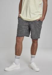 Pánske kraťasy URBAN CLASSICS Vintage Terry Shorts šedé