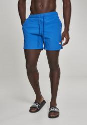 Pánske kúpacie kraťase Urban Classics Block Swim Shorts cobalt blue