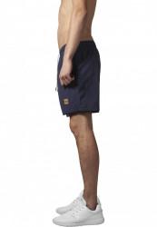 Pánske kúpacie kraťase Urban Classics Block Swim Shorts navy/navy #1
