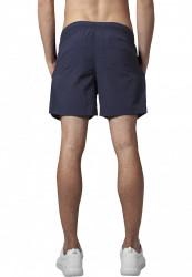 Pánske kúpacie kraťase Urban Classics Block Swim Shorts navy/navy #2