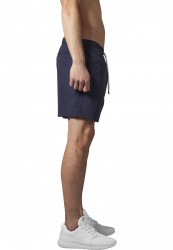 Pánske kúpacie kraťase Urban Classics Block Swim Shorts navy/navy #3