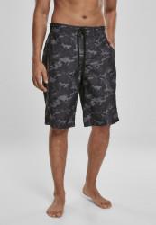 Pánske kúpacie kraťase Urban Classics Board Shorts black camo