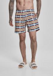 Pánske kúpacie kraťase URBAN CLASSICS Inka Swim Shorts white