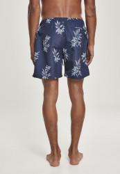 Pánske kúpacie kraťase Urban Classics Pattern Swim Shorts subtile floral #1