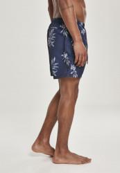 Pánske kúpacie kraťase Urban Classics Pattern Swim Shorts subtile floral #2