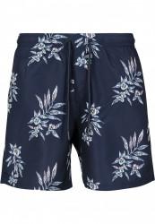 Pánske kúpacie kraťase Urban Classics Pattern Swim Shorts subtile floral #4
