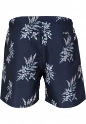 Pánske kúpacie kraťase Urban Classics Pattern Swim Shorts subtile floral #5