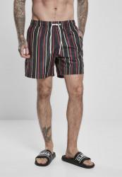 Pánske kúpacie kraťase Urban Classics Stripe Swim Shorts midnightnavy