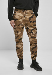 Pánske maskáčové nohavice Urban Classics Camo Cargo Jogging Pants 2.0 darkground camo