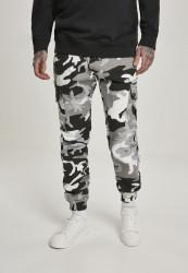 Pánske maskáčové nohavice Urban Classics Camo Cargo Jogging Pants 2.0 snow camo