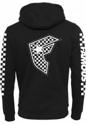 Pánske mikina Famous Checker Badge Hoody