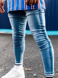 Pánske modré rifle 304 Clothing FADED Farba: Modrá,
