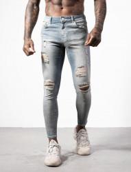 Pánske modré rifle ALIVE DENIM Worn Jeans