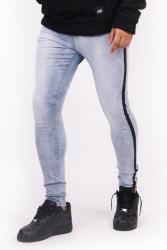 Pánske modré rifle Sixth June Stripe Jeans Farba: Modrá,