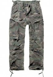 Pánske nohavice BRANDIT M-65 Vintage Cargo Pants Farba: olive camo, Grösse: XXL
