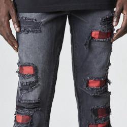 Pánske nohavice Cayler & Sons Pants All Day Flanneled Denim vintage black - W 32 L 32 #2