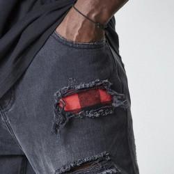 Pánske nohavice Cayler & Sons Pants All Day Flanneled Denim vintage black - W 32 L 32 #3