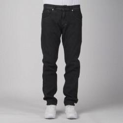 Pánske nohavice Mass Denim Classics Jeans Straight Fit black rinse - W Size: W 34