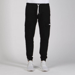 Pánske nohavice Mass Denim Joggers Sneaker Fit Cargo black - W Size: W 38
