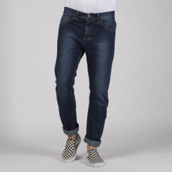 Pánske nohavice Mass Denim Signature Jeans Tapered Fit dark blue - W Size: W 36 #2