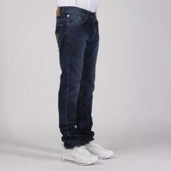 Pánske nohavice Mass Denim Signature Jeans Tapered Fit dark blue - W Size: W 36 #3