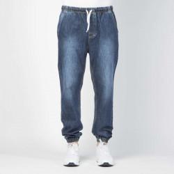 Pánske nohavice Mass Denim Signature Joggers Jeans Sneaker Fit dark blue - W Size: W 36