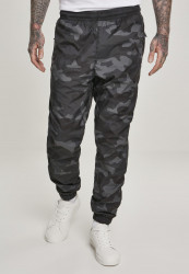 Pánske nohavice URBAN CLASSICS Camo Track Pants darkcamo