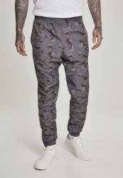 Pánske nohavice URBAN CLASSICS Camo Track Pants darkdesert camo