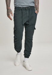 Pánske nohavice URBAN CLASSICS Cargo Jogging Pants bottlegreen