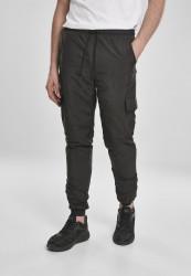 Pánske nohavice URBAN CLASSICS Cargo Nylon Track Pants black