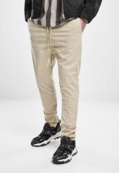 Pánske nohavice URBAN CLASSICS Tapered Cotton Jogger Pants concrete