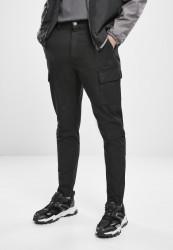 Pánske nohavice Urban Classics Tapered Double Cargo Pants black
