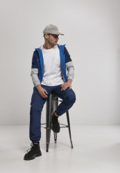 Pánske nohavice Urban Classics Zip Away Track Pants #4