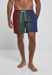 Pánske plavky URBAN CLASSICS 3-Tone Swim Shorts