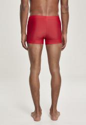 Pánske plavky URBAN CLASSICS Basic Swim Trunk červené #2
