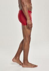 Pánske plavky URBAN CLASSICS Basic Swim Trunk červené #3