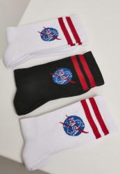 Pánske ponožky MR.TEE NASA Insignia Socks 3-Pack Farba: white/black/white,