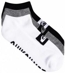 Pánske ponožky Quiksilver 3 Ankle Pack assorted