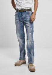 Pánske rifle BRANDIT Will Washed Denim Jeans Farba: blue washed,