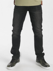 Pánske rifle Rocawear / Straight Fit Jeans Relax Fit in black Size: W 34