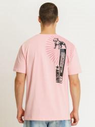 Pánske ružové tričko Amstaff Aponi T-Shirt Size: 3XL #1
